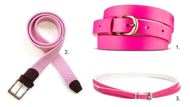 Pink Belts