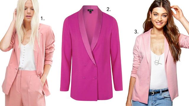 Pink Blazers