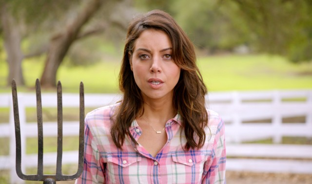 Aubrey Plaza is Bisexual, Knows You're Into Her, Is Cool With It