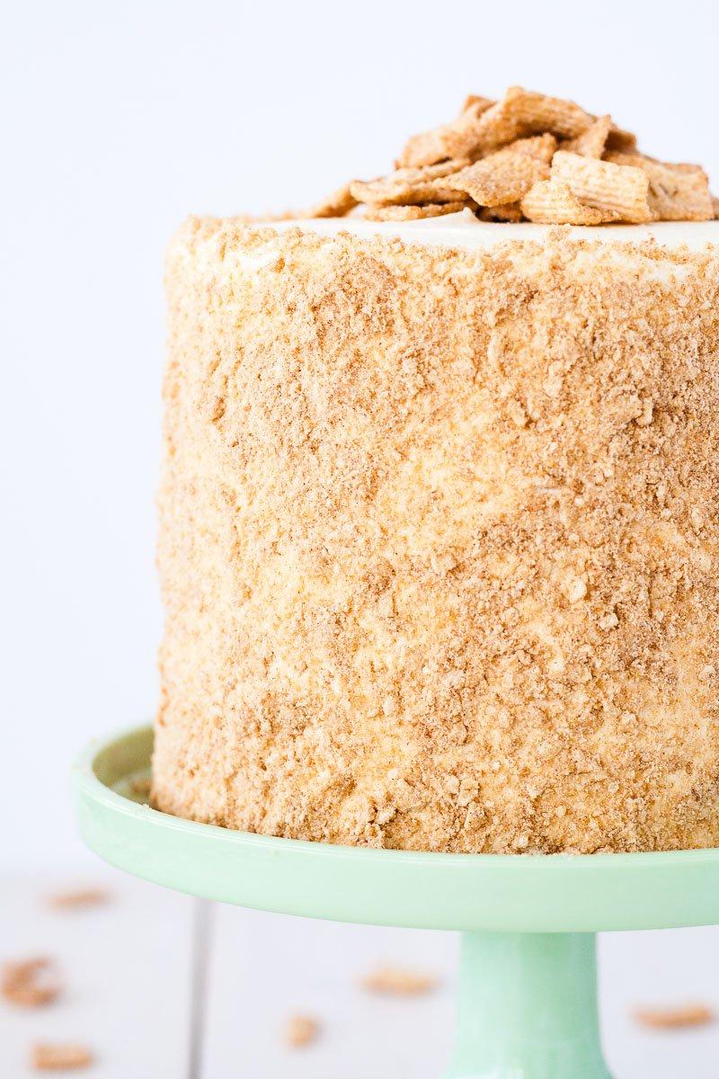 Cinnamon Toast Crunch Birthday Cake
