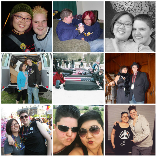 The last childfree photo collage: 2005 - 2016