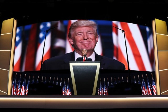 Donald Trump's acceptance speech at the Republican National Convention