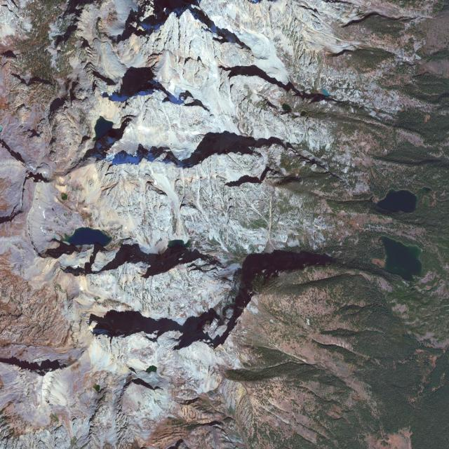Wyoming's Grand Teton National Park Photo by DigitalGlobe