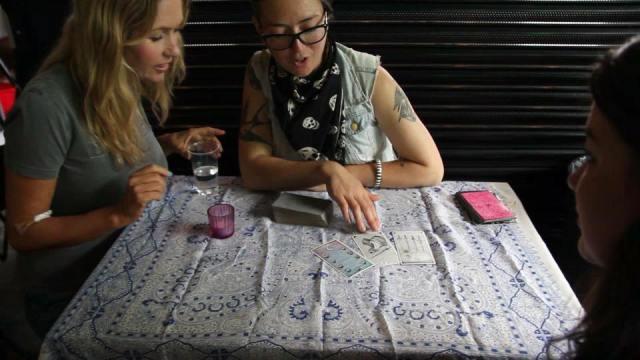 tarot reading at free pride glasgow