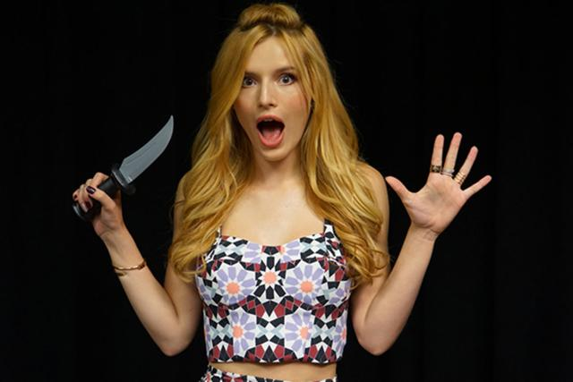 Thorne in a promotional image for Scream.