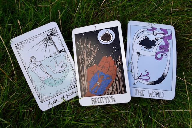 From the Collective Tarot (out of print)