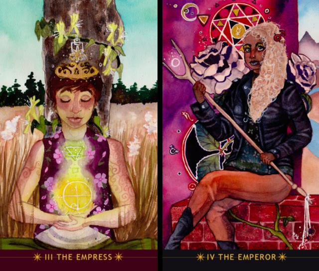 Emperor_Empress_Numinous_Tarot_Noel_Arthur_Heimpel