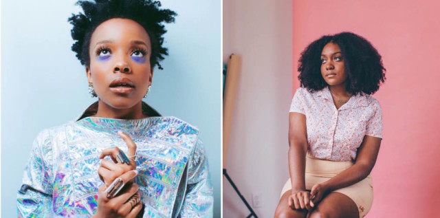 Jamila Woods and Noname