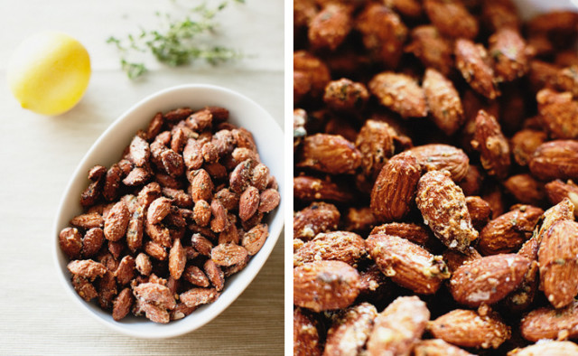 Savory Roasted Almonds via Sprouted Kitchen