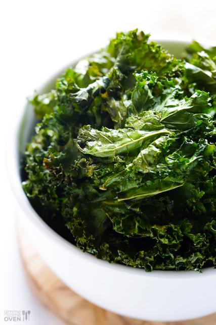 Sea Salt Vinegar Kale Chips via GImme Some Oven