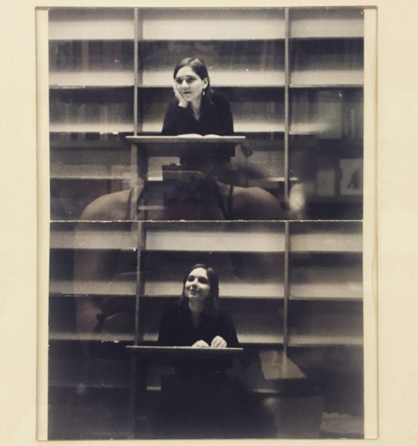 Portrait of Adrienne Rich from the walls of the Academy of American Poets via Brain Pickings