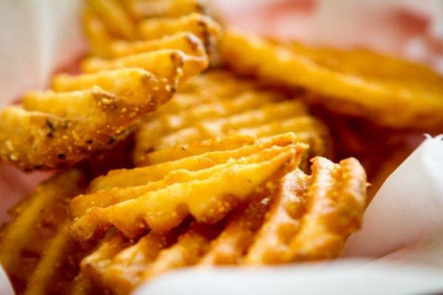 waffle fries - shutterstock_281630147