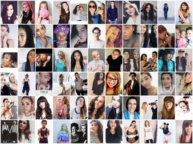 Top 100 Lesbian & Bisexual YouTubers & Couples List: Ranked By ...