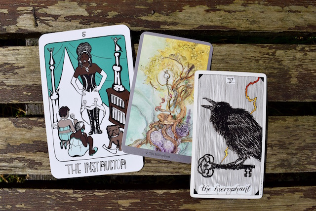 The Collective Tarot, The Shadowscapes Tarot, The Wild Unknown Tarot