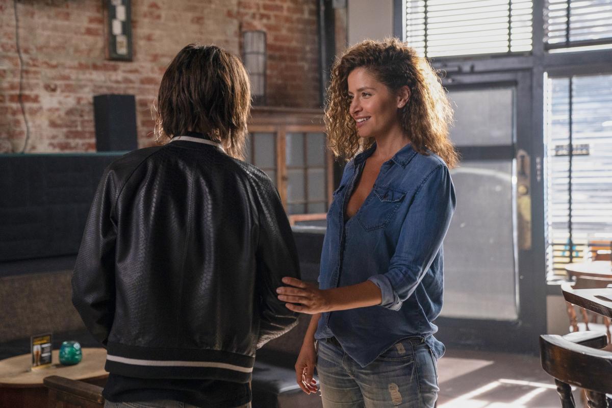 "Mercedes Mason as ""Lena"" in The L Word: Generation Q"