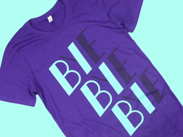 Bi Bi Bi Purple Tee