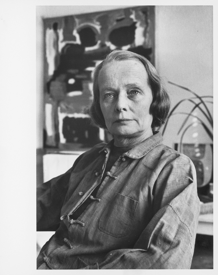 Betty Parsons, 1963. Photo Alexander Liberman. The Getty Research Institute, Los Angeles. © J. Paul Getty Trust.