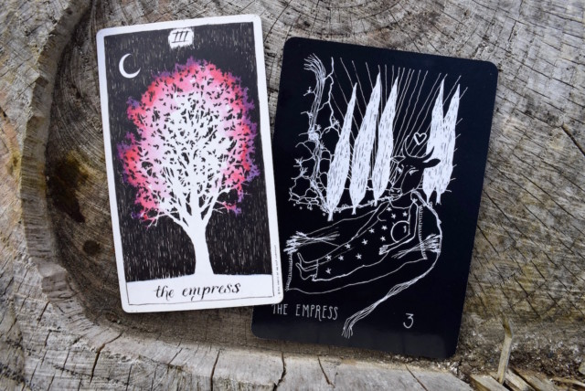 The Wild Unknown Tarot, the Wanderer's Tarot