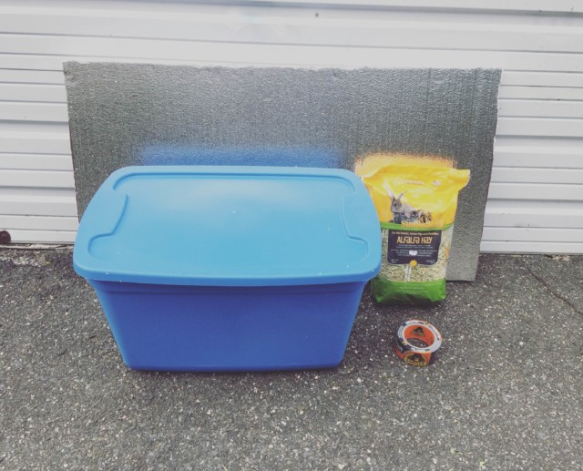 Save a Feral Cat's Life With a $15 DIY Winter Shelter ... Insulated Feral Cat House Plans on heated cat house plans, outdoor cat house plans, feral cat winter shelter plans, insulated rabbit house plans, insulated dog house plans,