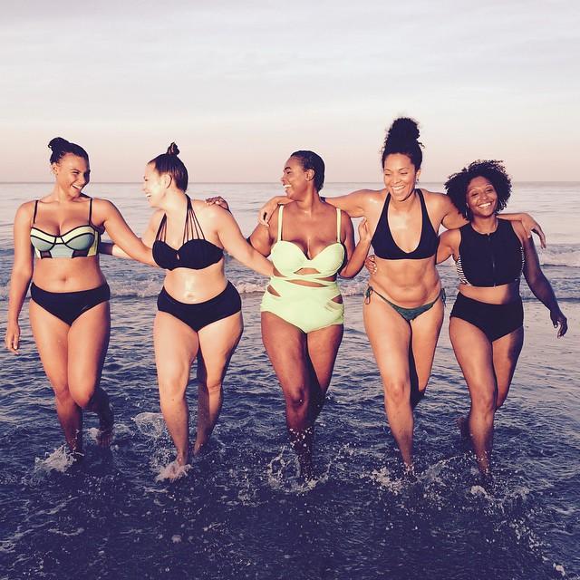 Marquita Pring, Ashley Graham, Julie Henderson via body positivity