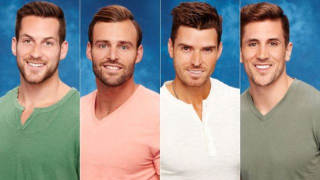 Four white cis heterosexual men who look about as interesting as a floor.