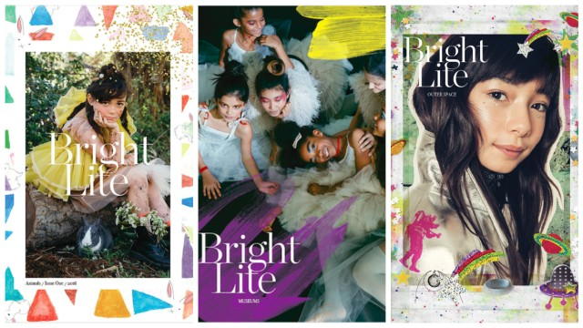 Issue 1 on Animals, Issue 2 on Museums, and the upcoming Issue 3 on Outer Space (via brightlitemag.com)