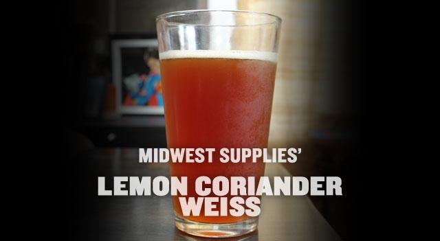 Lemon Coriander Weiss