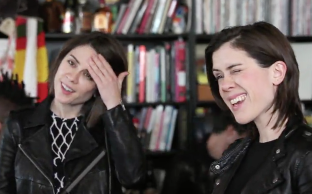 Tegan and Sara Tiny Desk Concert