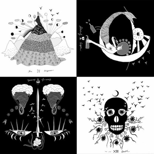 Fool's Journey: The Dark Days Tarot is Your Queer Lunar