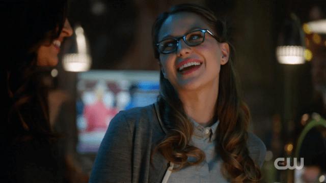 Kara smiles a knowing smile at Maggie.