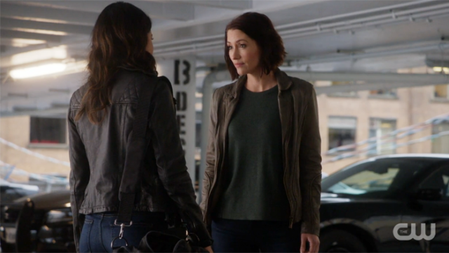 Alex looks a little fed up with Maggie.