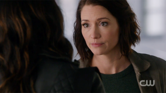 Alex looks at Maggie with pain in her eyes