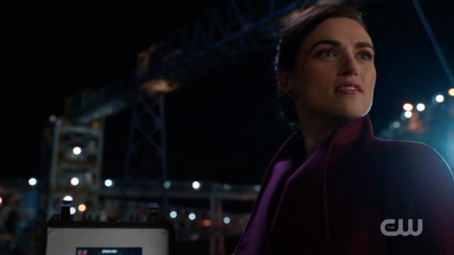 Lena Luthor looks defiant.