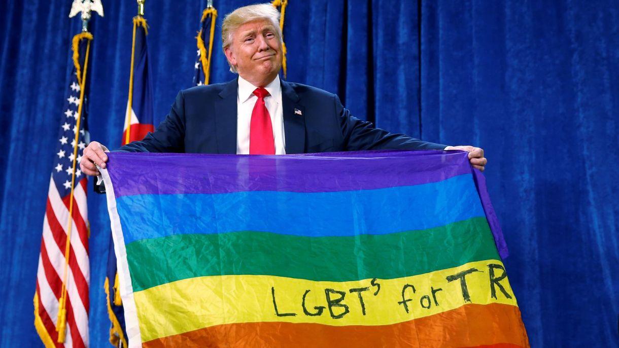 trumpgayflag
