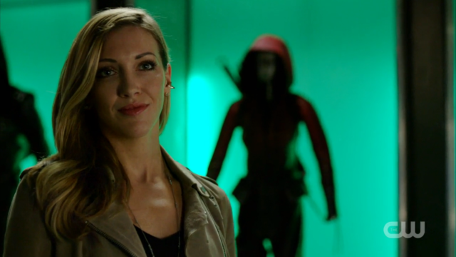Laurel Lance! Alive and smiling!