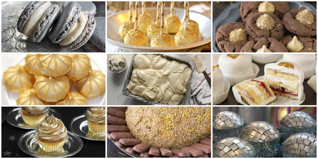 15 silver and gold dessert recipes to make your new year bright 15 silver and gold dessert recipes to make your new year bright autostraddle forumfinder Choice Image