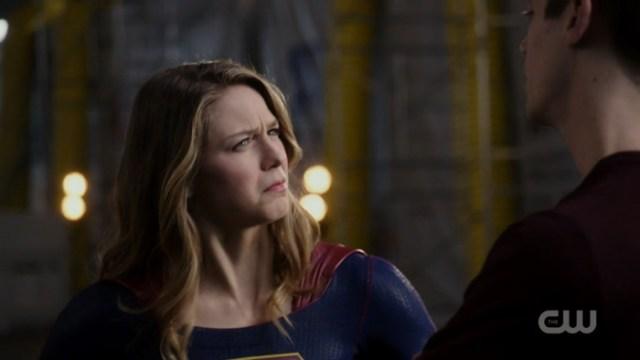 Kara looks perplexed