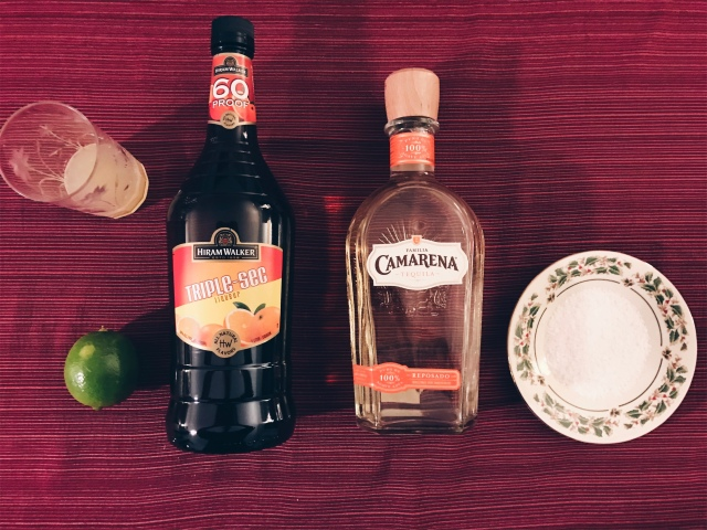 photo of cocktail ingredients