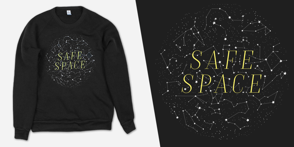 safe space sweater