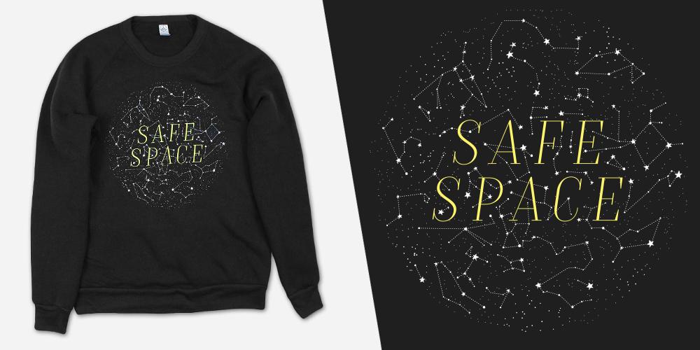 safe space sweater