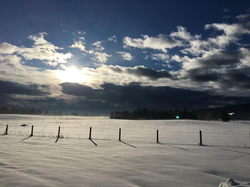 clouds horizon