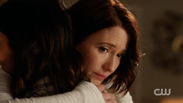 Alex hugs Maggie