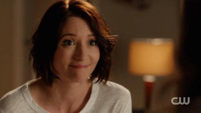 Alex smiles hopefully at Maggie
