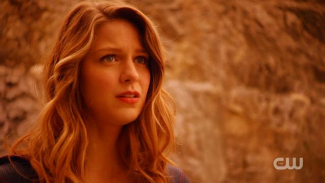 Kara looks exasperated at Mon-El