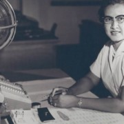 Katherine Goble Johnson.