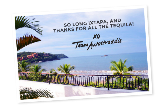 thanks for all the tequila postcard