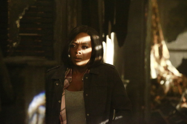 "HOW TO GET AWAY WITH MURDER - ""Wes"" - Annalise and the Keating 4 test the limits of how far they'll go to save themselves while the chilling details from the night of the fire reveal who killed Wes. The two-hour season finale of ""How to Get Away with Murder"" will air on THURSDAY, FEBRUARY 23 (9:01-11:00 p.m. EST) on the ABC Television Network. (ABC/Mitch Haaseth)<br /> VIOLA DAVIS"