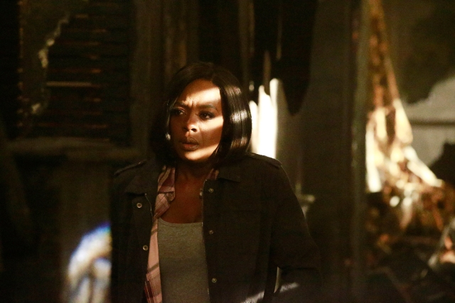 """HOW TO GET AWAY WITH MURDER - """"Wes"""" - Annalise and the Keating 4 test the limits of how far they'll go to save themselves while the chilling details from the night of the fire reveal who killed Wes. The two-hour season finale of """"How to Get Away with Murder"""" will air on THURSDAY, FEBRUARY 23 (9:01-11:00 p.m. EST) on the ABC Television Network. (ABC/Mitch Haaseth)<br /> VIOLA DAVIS"""