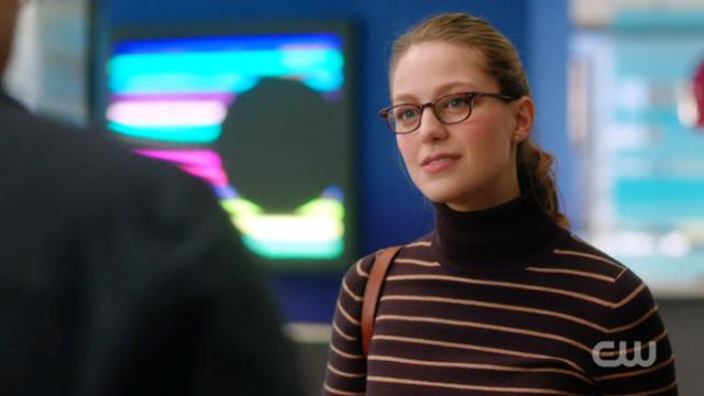 Kara looks...neutral at best.