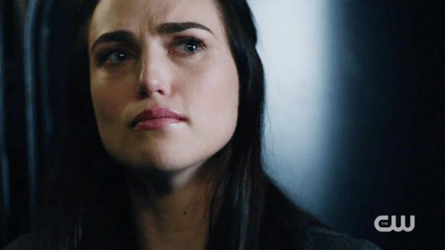 Lena looks very upset